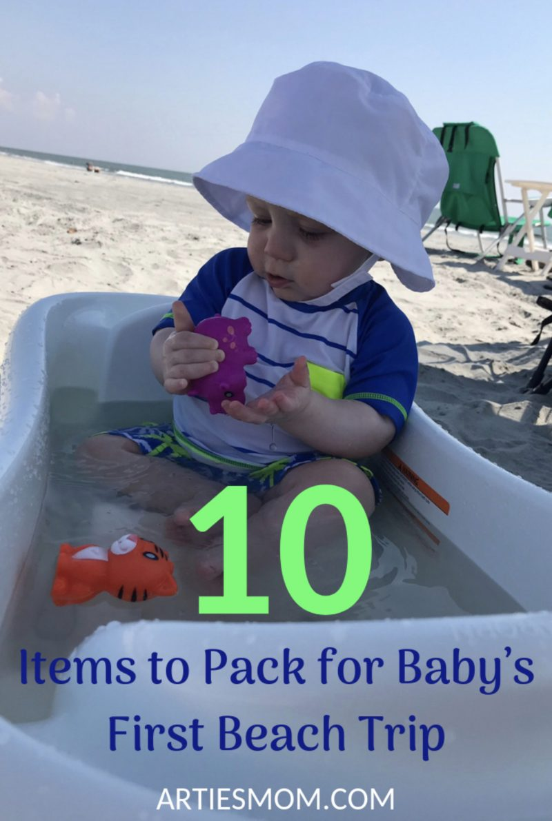 baby beach packing list