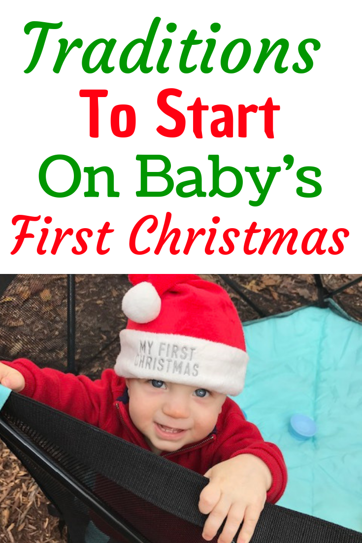 traditions to start on baby's first christmas
