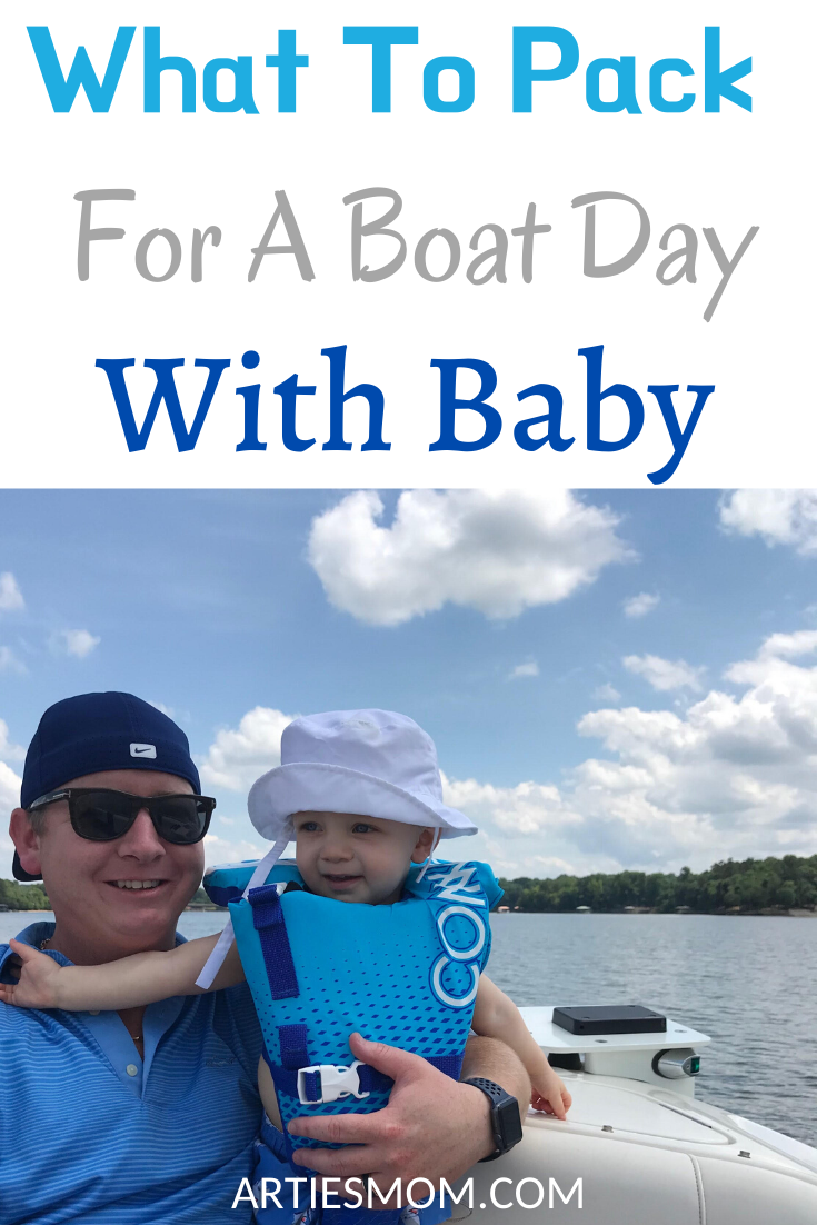 boating with baby, what to pack