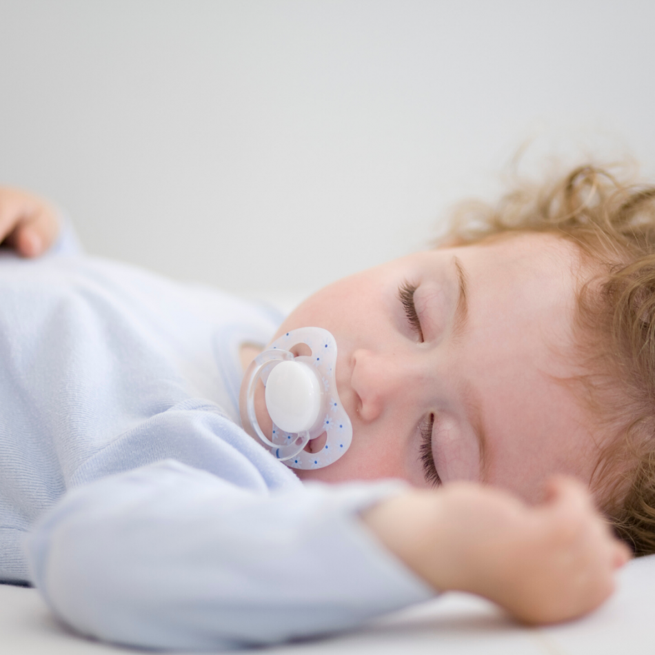 how to get rid of the pacifier, baby sleeping with pacifier