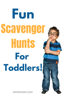 scavenger hunts for toddlers