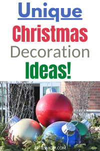 unique Christmas decoration ideas
